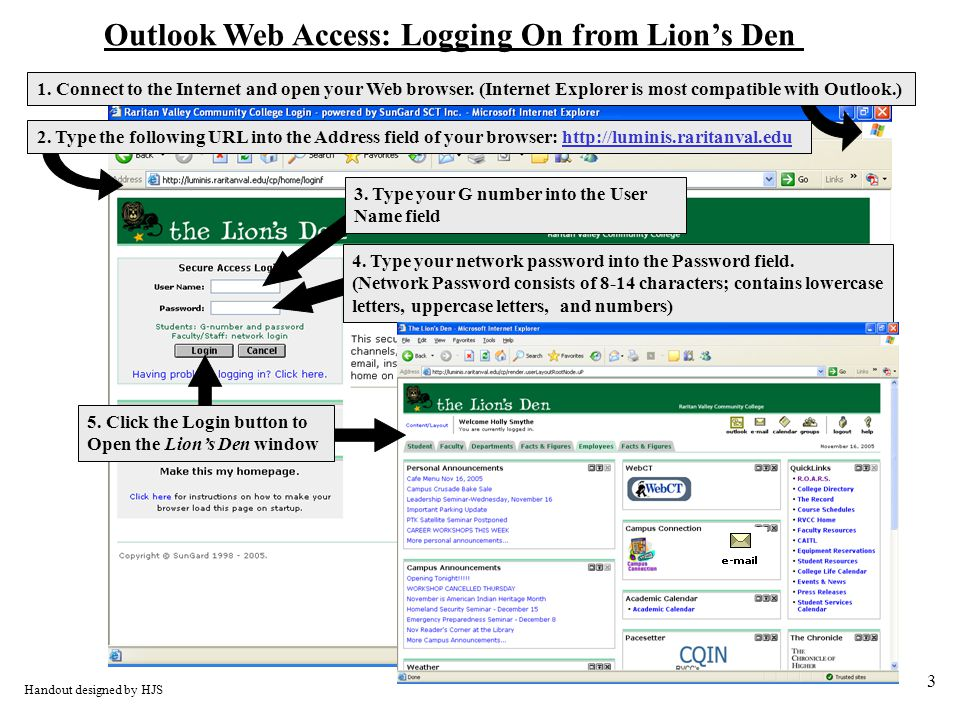 3 1. Connect to the Internet and open your Web browser.
