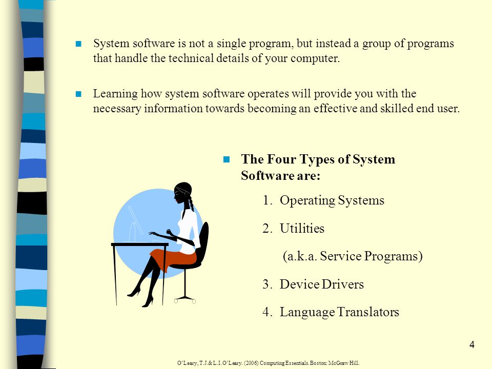 3 System Software Definition(s): 1.