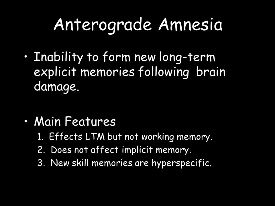 The A cquisition and Retrieval of Long-Term Memories. - ppt download
