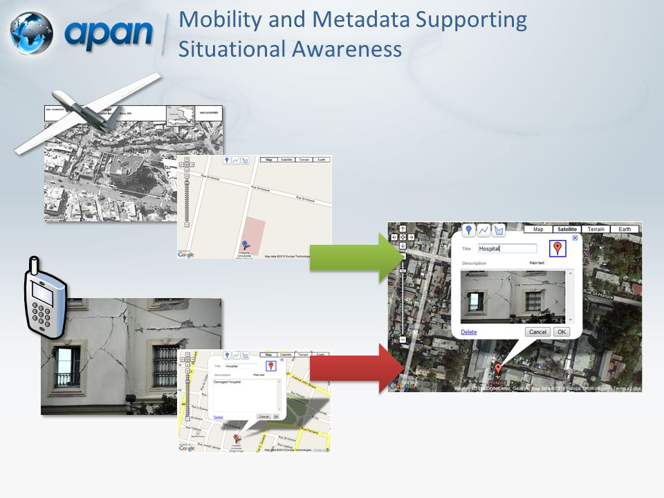 Mobility and Metadata Supporting Situational Awareness