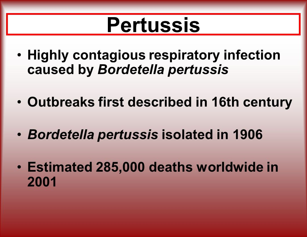 pertussis prevention