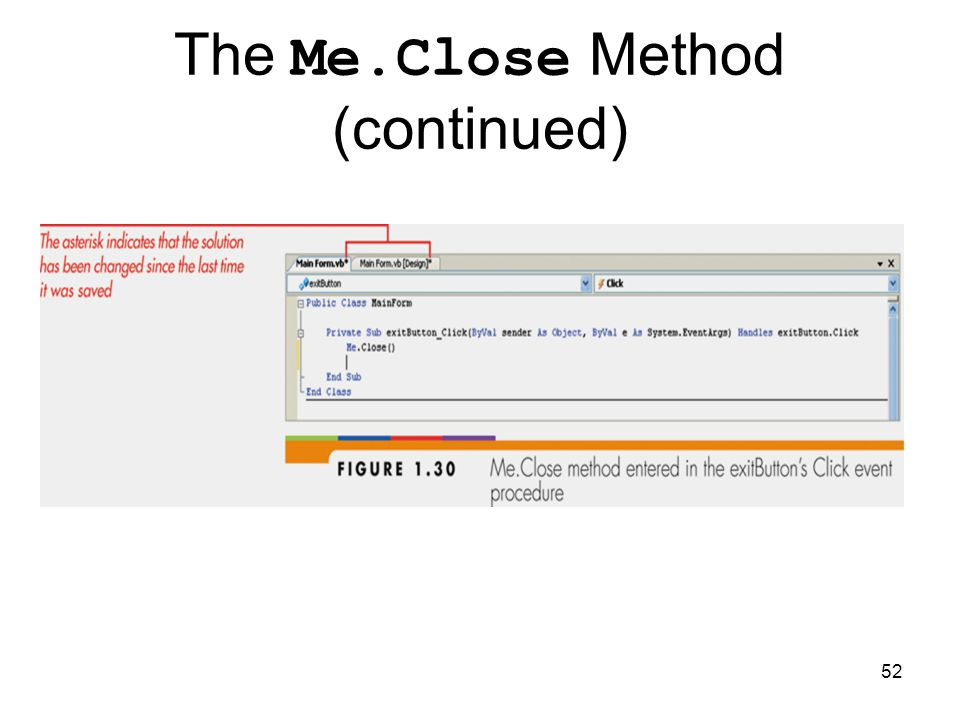 52 The Me.Close Method (continued)