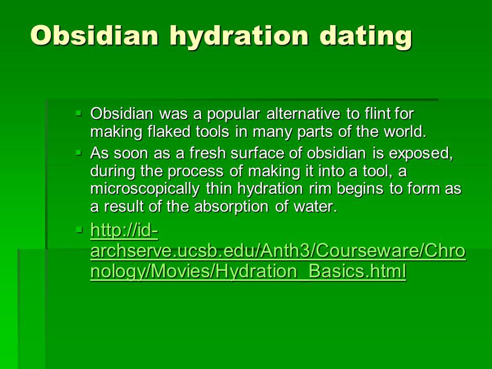 obsidian hydration