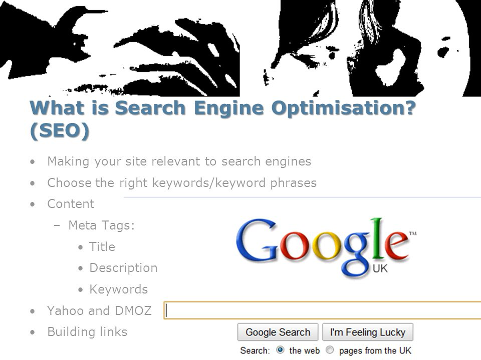 What is Search Engine Optimisation.
