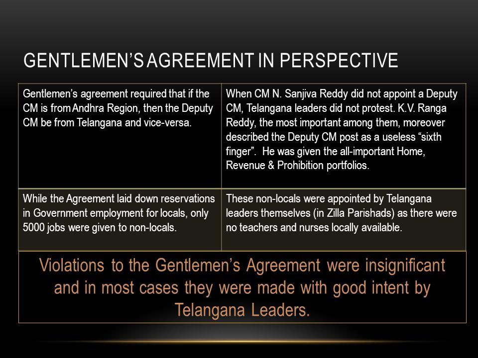 Unjust demand for telangana visalandhra mahasabha ppt download 61 gentlemens agreement platinumwayz
