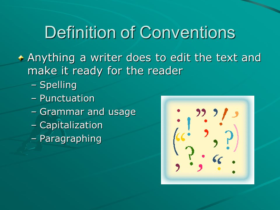 Conventions definition