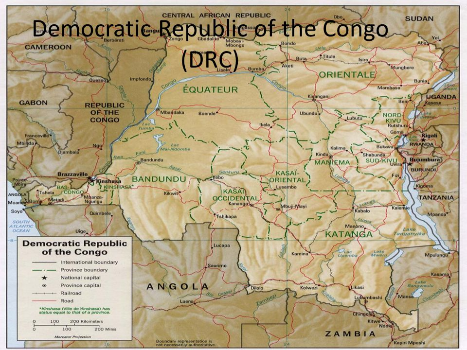 Democratic Republic of the Congo (DRC)