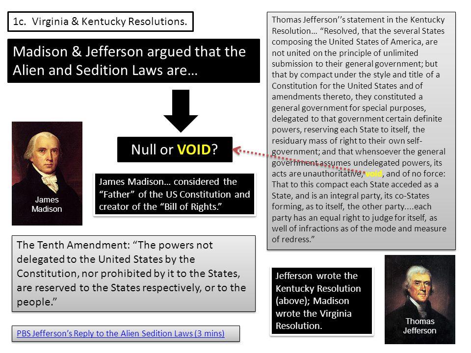 1c. Virginia & Kentucky Resolutions.