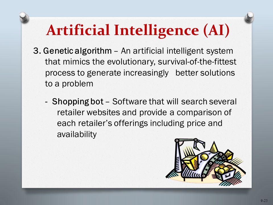 9-25 Artificial Intelligence (AI) 3.