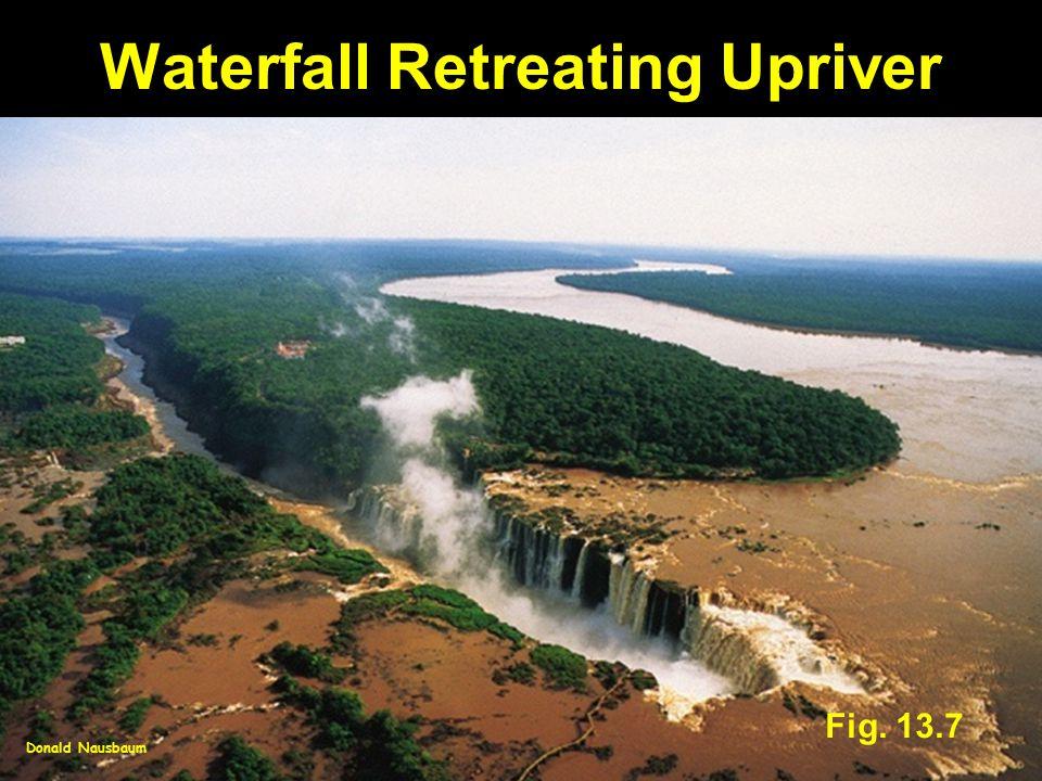 Waterfall Retreating Upriver Fig. 13.7 Donald Nausbaum