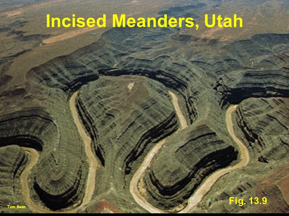 Fig. 13.9 Incised Meanders, Utah Tom Bean