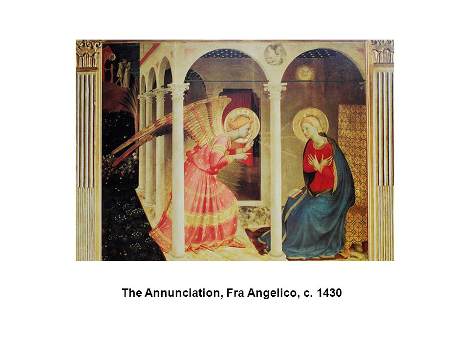 The Annunciation, Fra Angelico, c. 1430