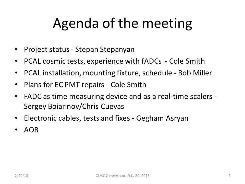 Add agenda aob board meeting