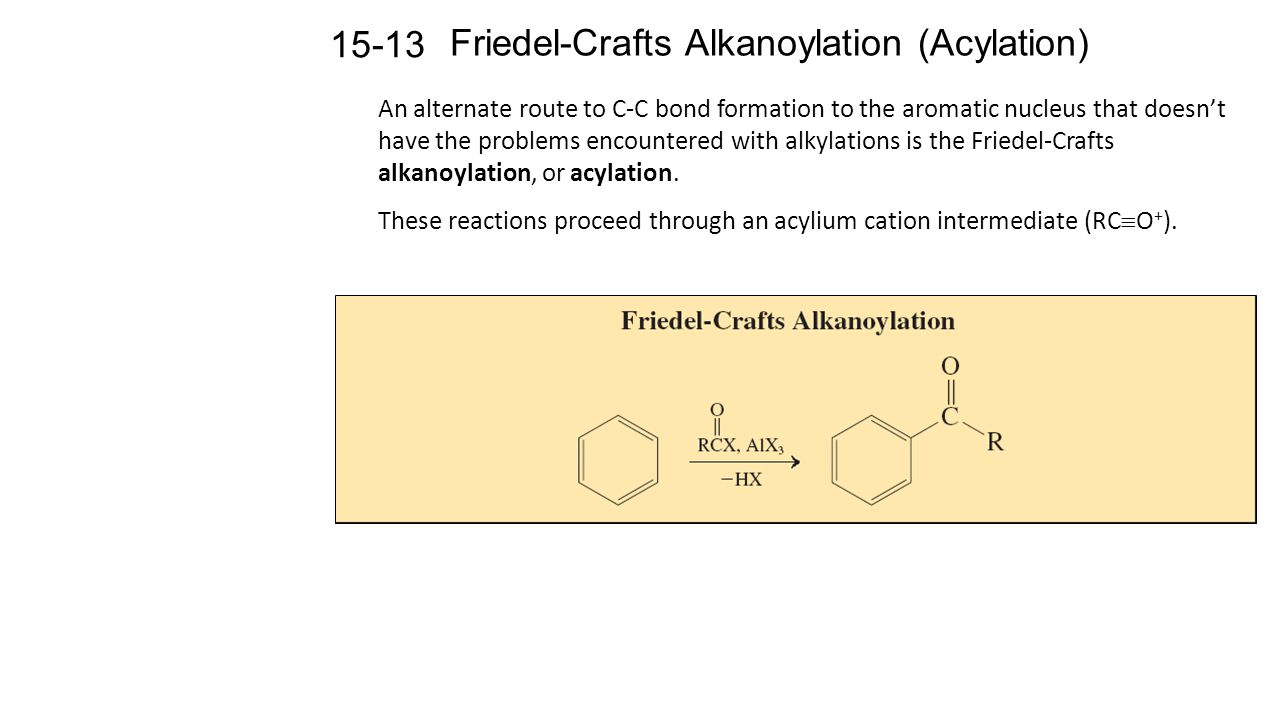 friedel crafts reactions