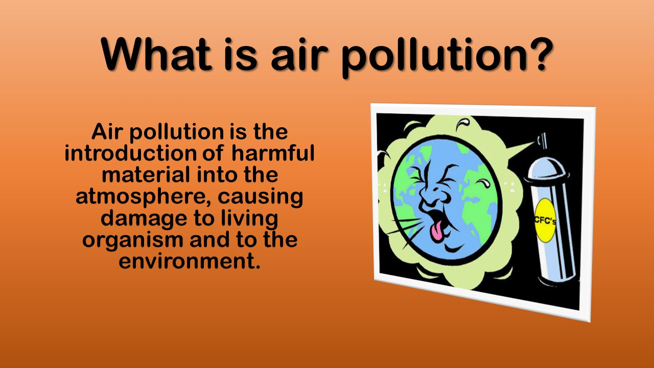 How to solve air pollution problems