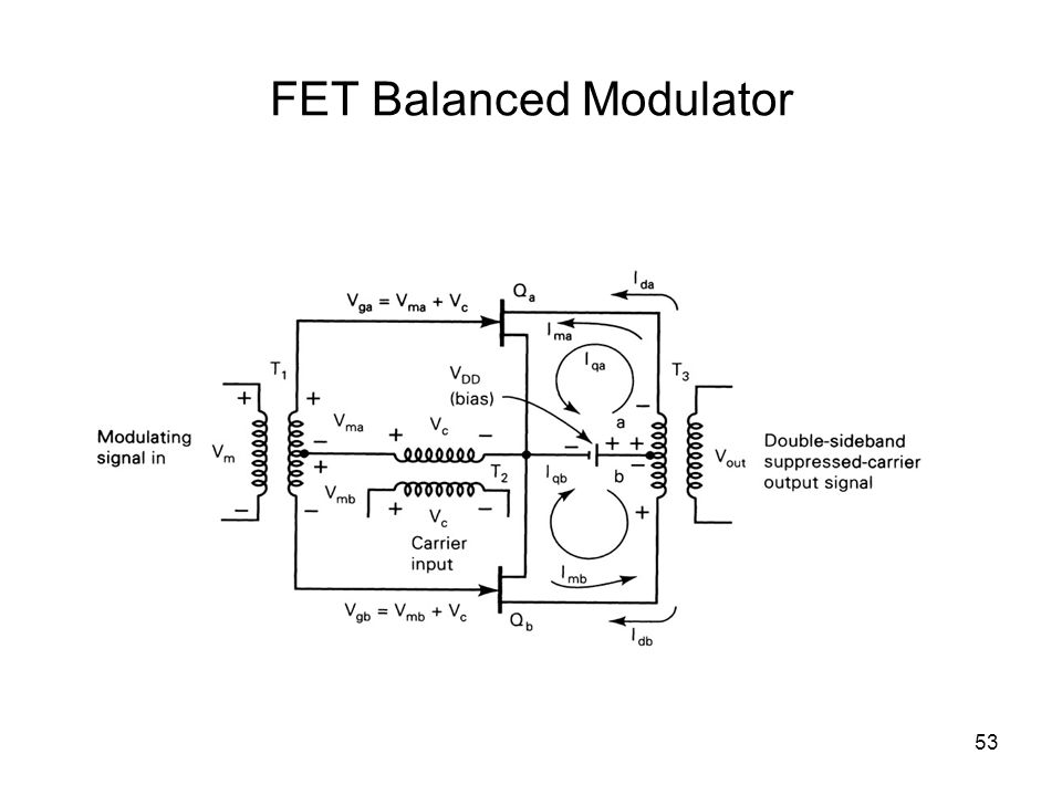 53 FET Balanced Modulator