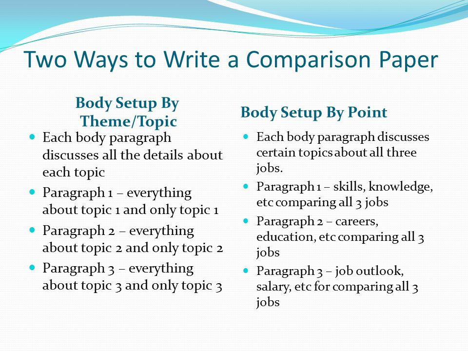 Comparative Essay Example Body Paragraphs - image 7
