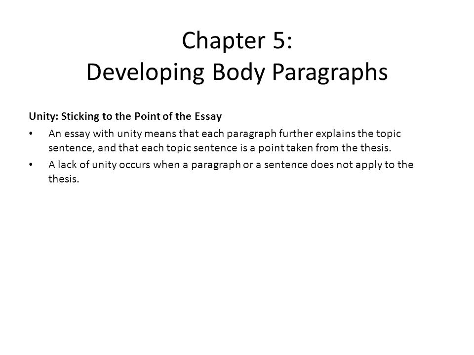 Synthesis Essay Topic Sentence