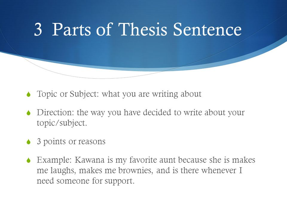 writing three part thesis help