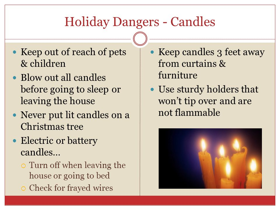 Home Safety The Holidays Click To Play Video Holiday Fire