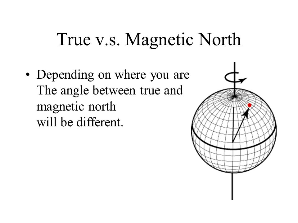 Which north pole does santa claus live at true north the earths which north pole does santa claus live at 2 true vs magnetic sciox Image collections