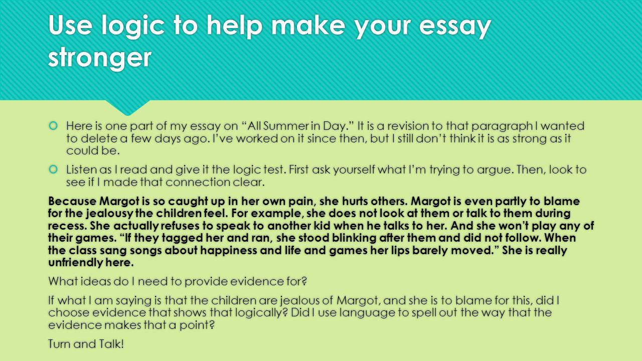 Having trouble revising my essay please help?