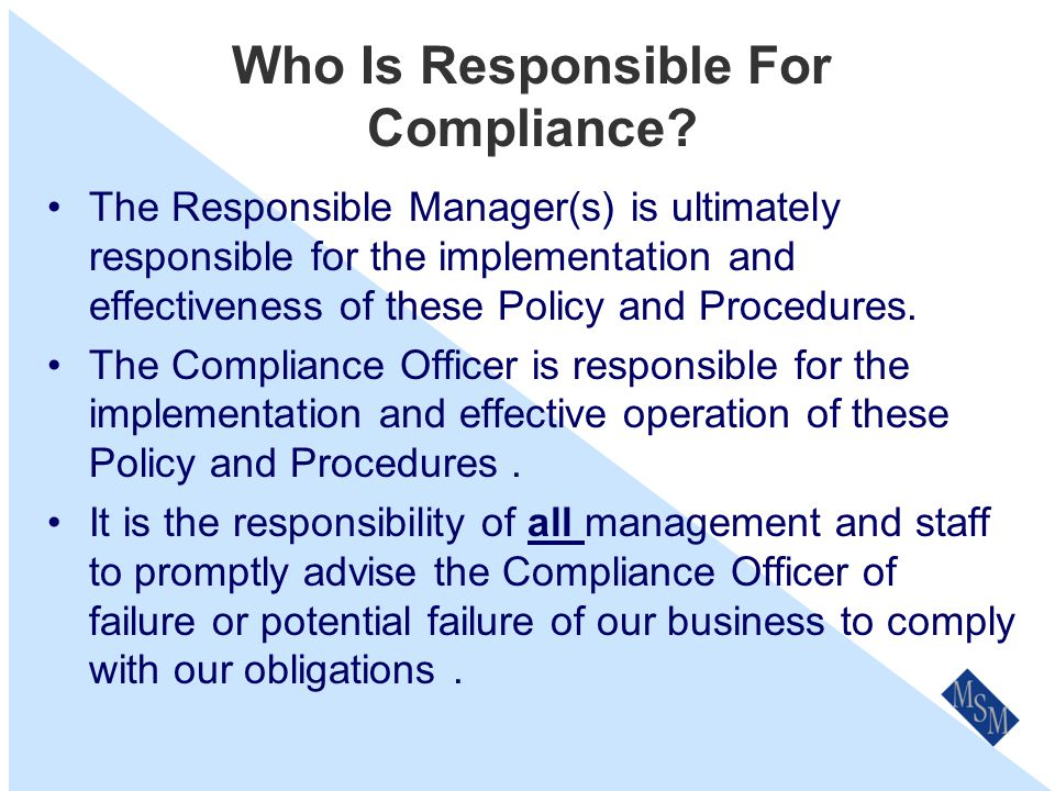 Why Is A Compliance Program So Important.