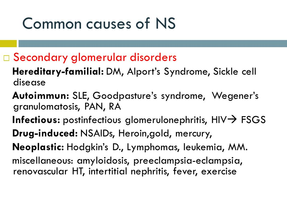 "Presentation ""GLOMERULAR DISEASES: NEPHROTIC AND NEPHRITIC ..."