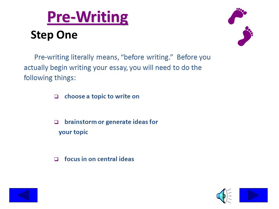 Six Steps for Writing an Essay in Elementary, Middle and