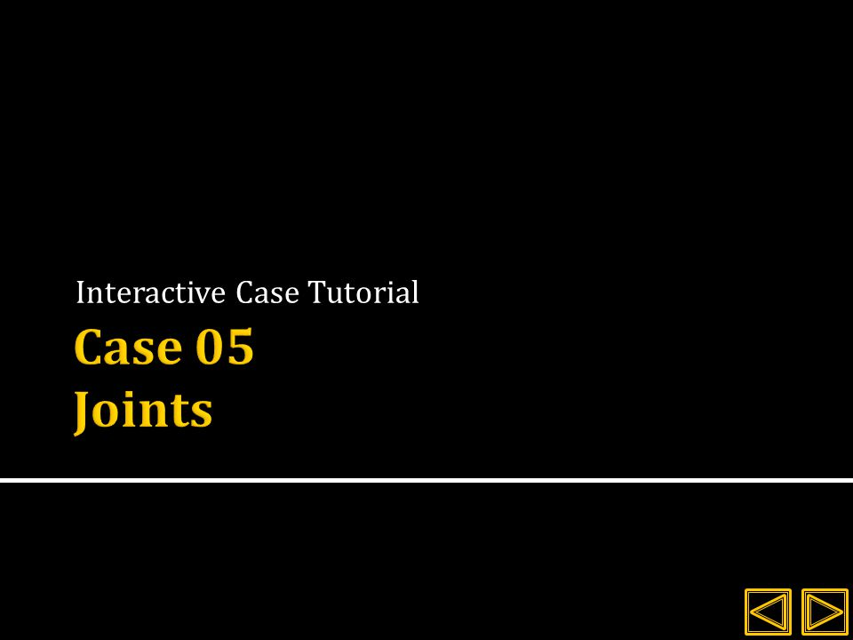 Interactive Case Tutorial