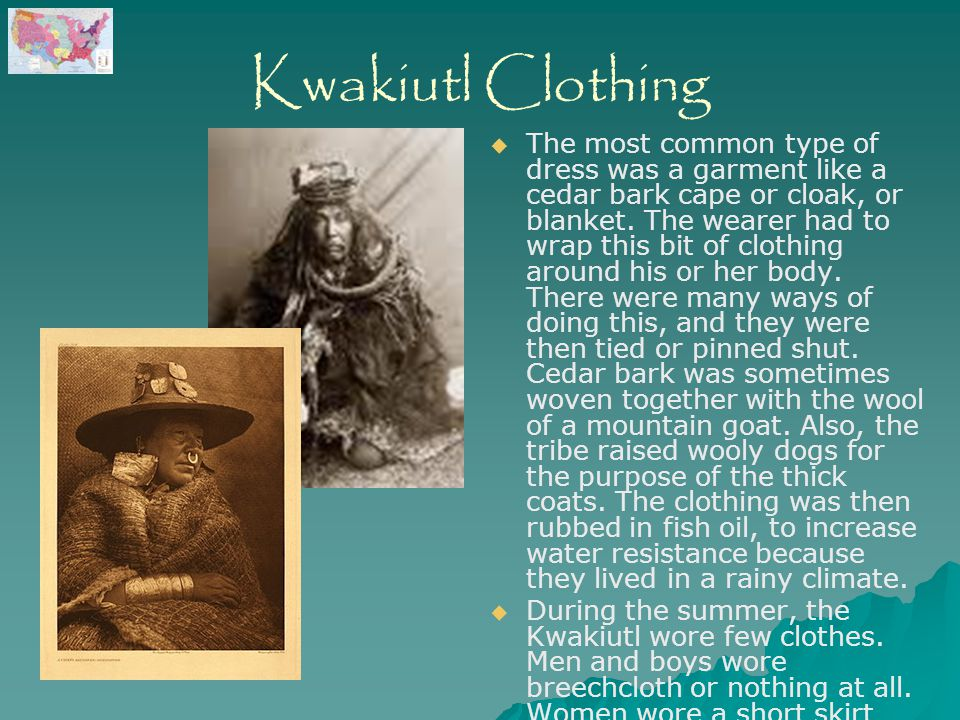Kwakiutl Men Clothing 8259 | BITNOTE