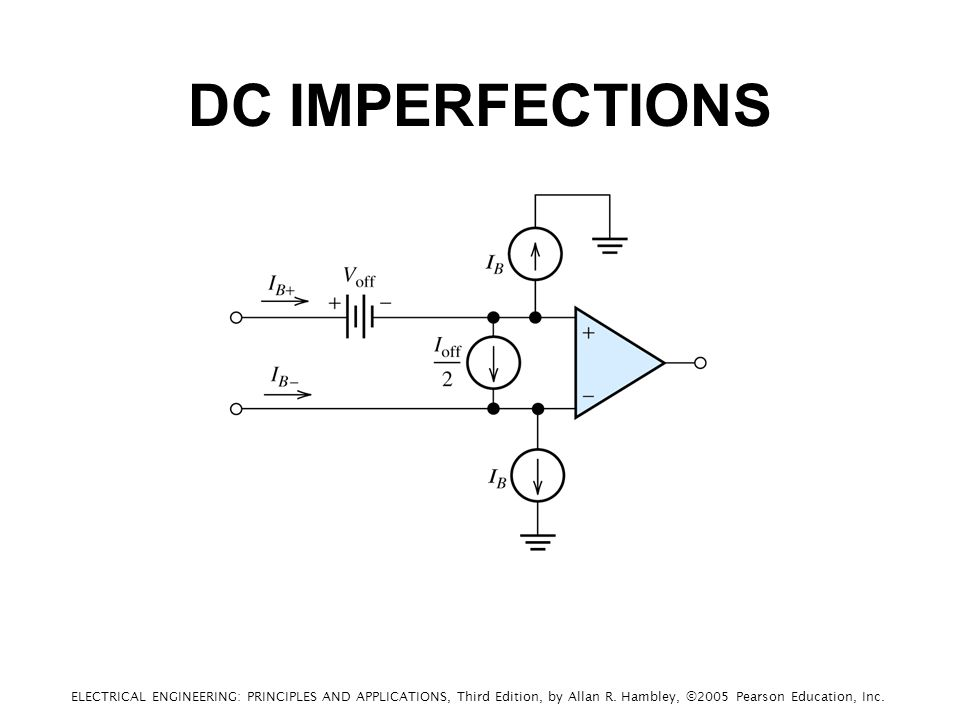 DC IMPERFECTIONS