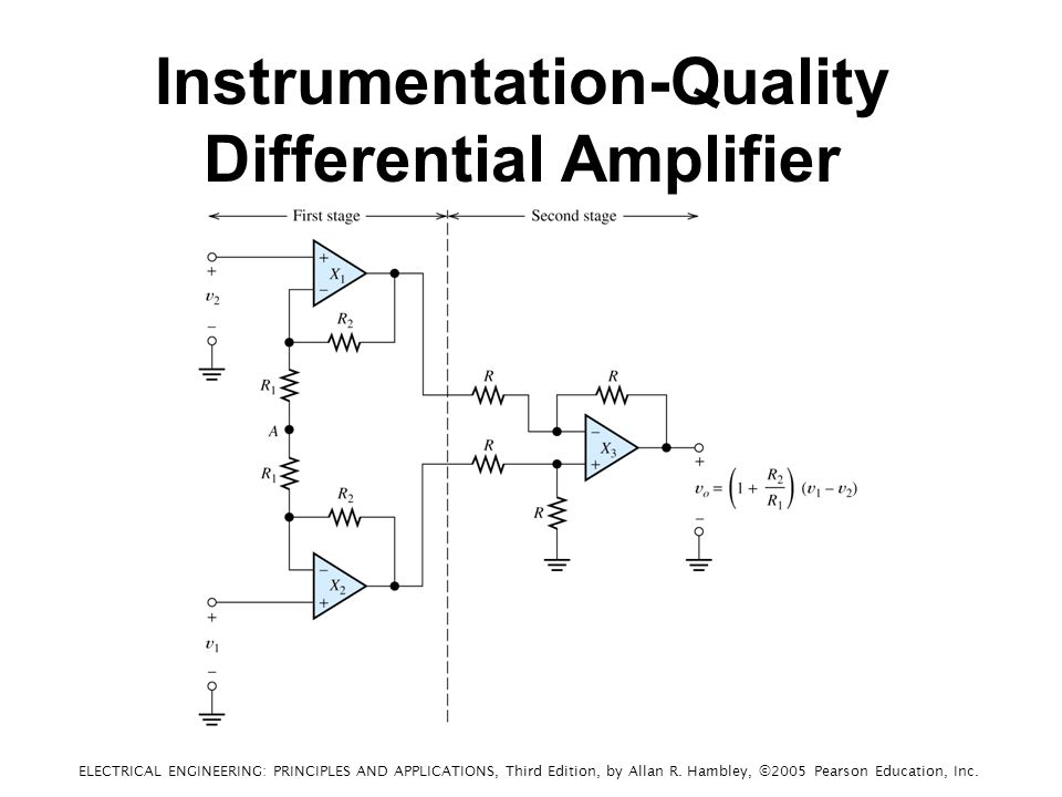 Instrumentation-Quality Differential Amplifier