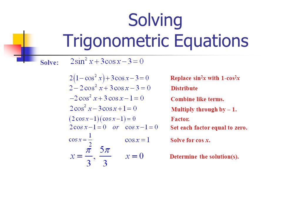 5 3 Solving Trig Equations Worksheet 2 Pre Calculus Tessshebaylo – Trigonometric Equations Worksheet