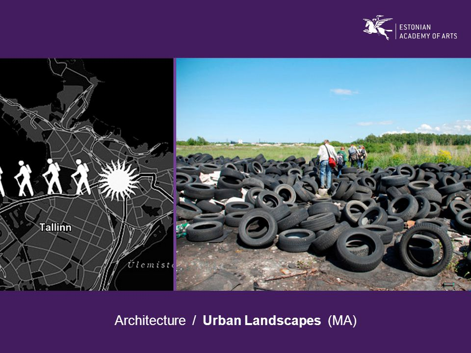 Architecture / Urban Landscapes (MA)