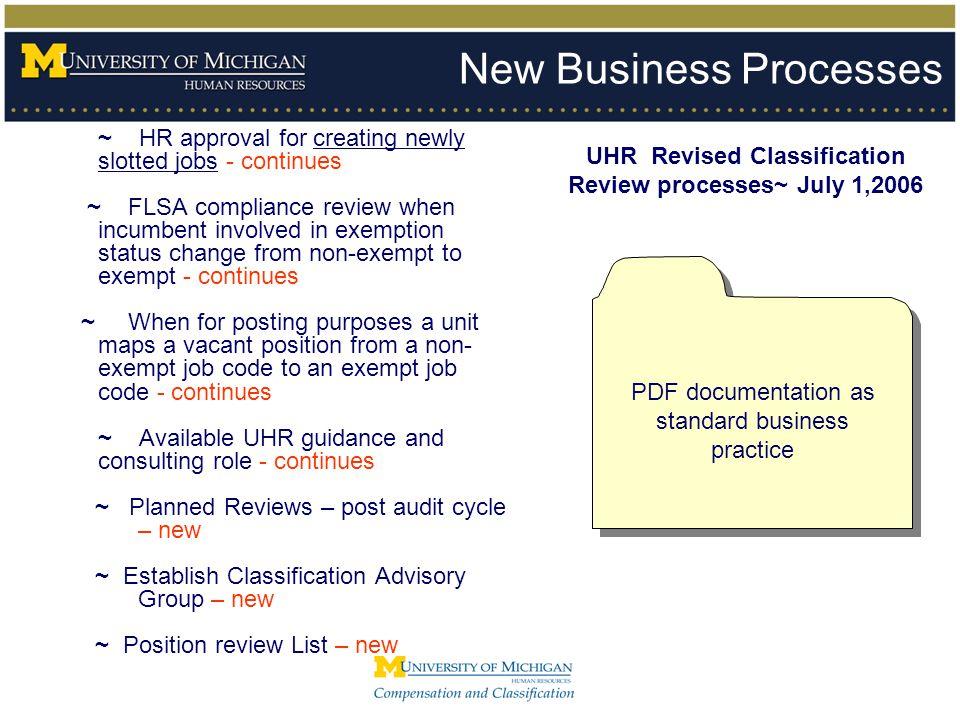 2 - Documentation Review Process