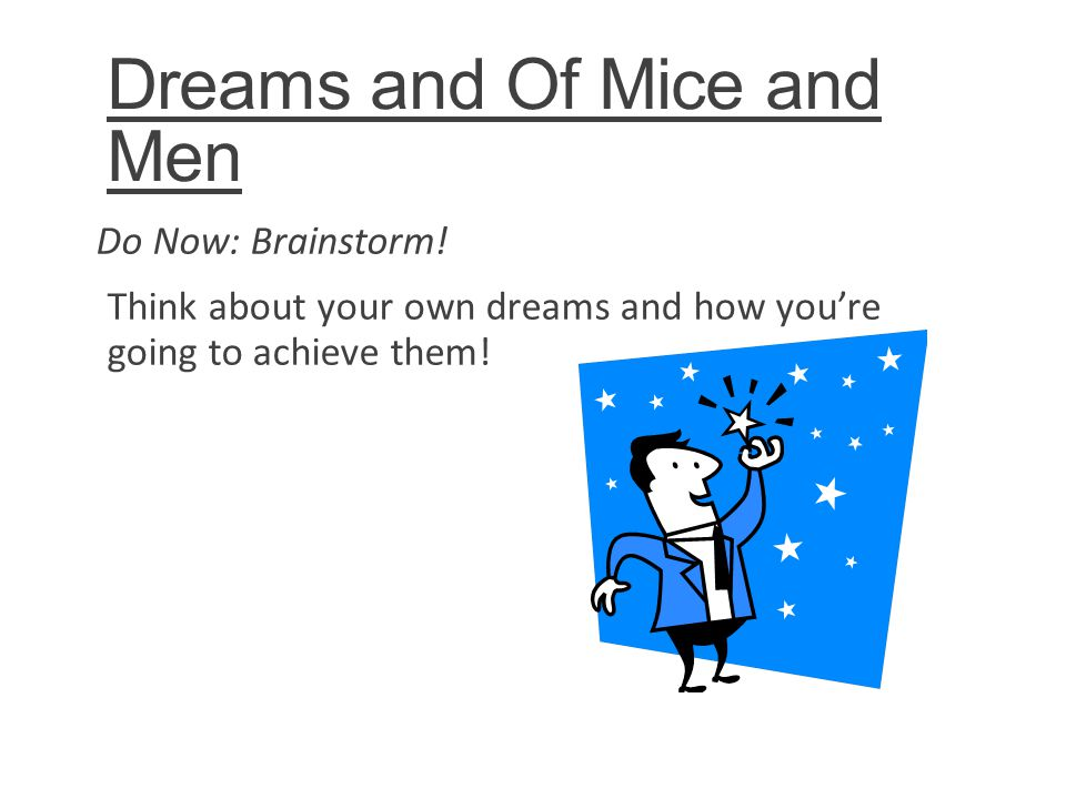 Of mice and men the american dream essay