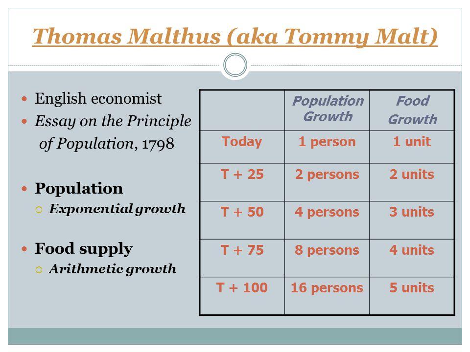 Thomas Malthus The Principle of Population   Get a Free Blog Antiqbook