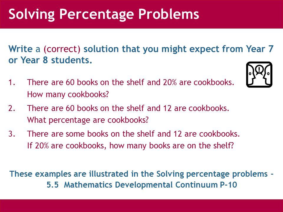 Percentage word problem 5 - YouTube