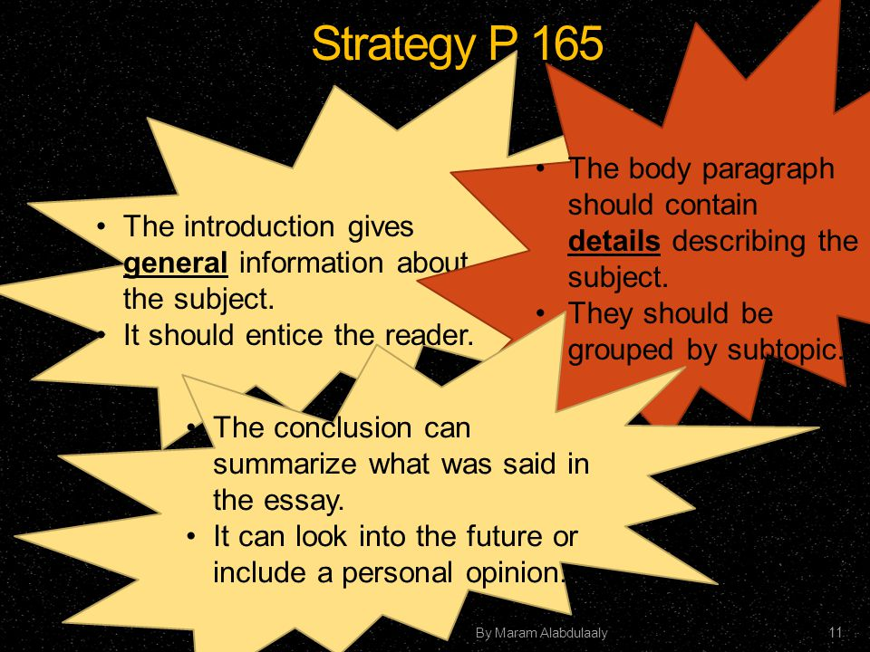 Fascinating and Unusual Descriptive Essay Topics