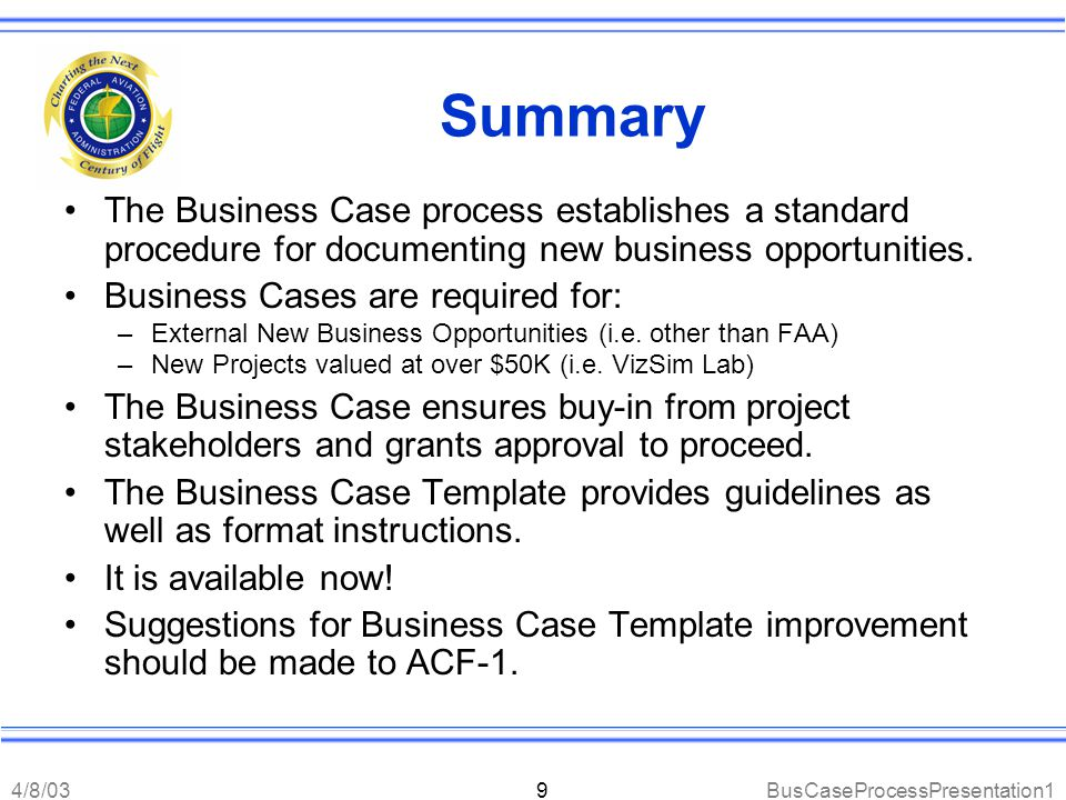 Magnificent Powerpoint Business Case Template Photos - Example ...