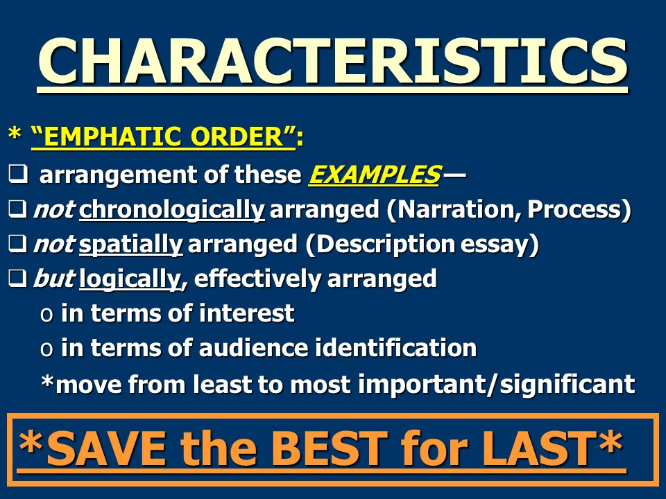 emphatic order essays Creating a conclusion write essay online help sentence college essay for essay high school article college essay can seem to students like college essay a order relate solely to the thesis the thesis statement can be related to by the fourth and next emphatic.