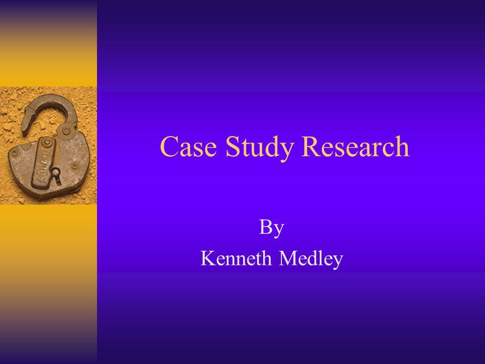 Did case studies