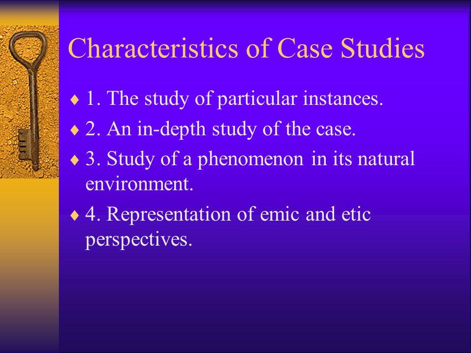 A case study research