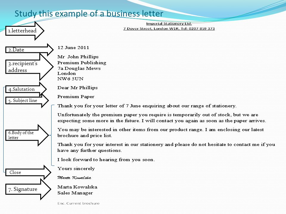 Cover Letter Examples Re Line