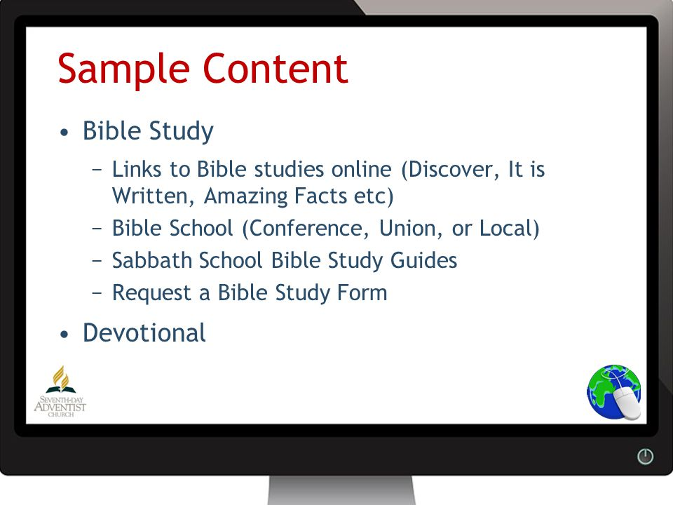 Church Website Ministry Preparing effective websites for