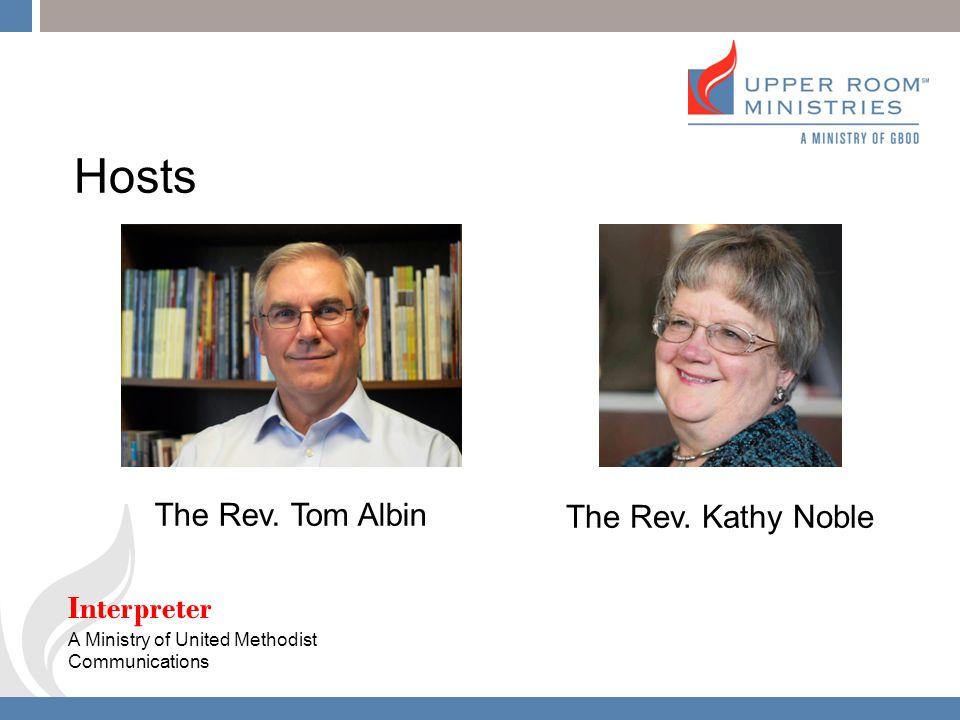 ... Upper Room Living Prayer Center October 22, 2013 Interpreter. 2 Hosts  ... Part 54