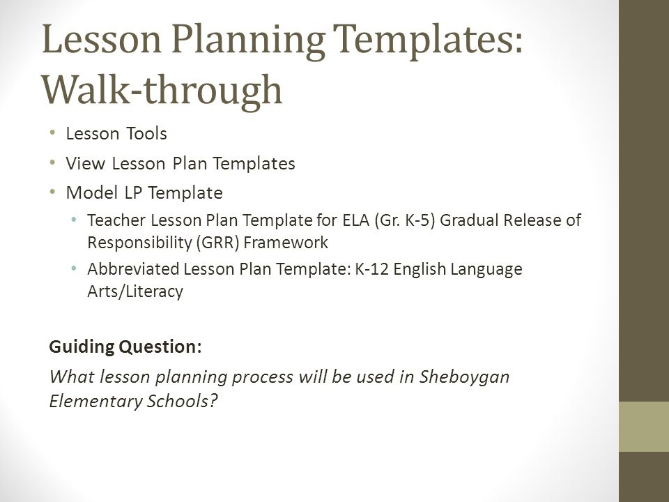 The ela common core journey claire wick yvonne harness cesa 7 43 lesson planning templates pronofoot35fo Image collections