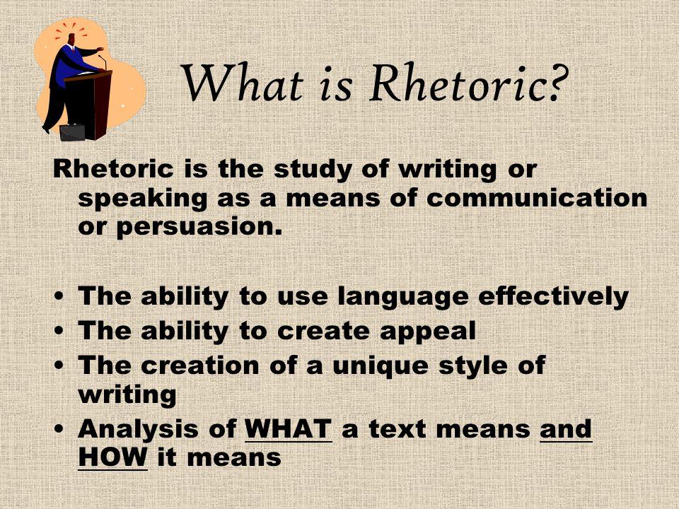 Rhetorical strategies???????
