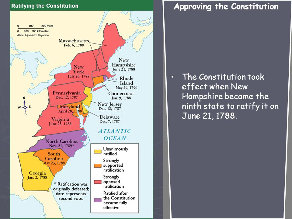 Opponents, the Anti- Federalists, wanted more power for the states and less for the national government.